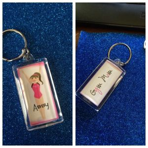 Team Spirit for parents with our keyrings.